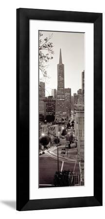 Transamerica Pano #1-Alan Blaustein-Framed Photographic Print
