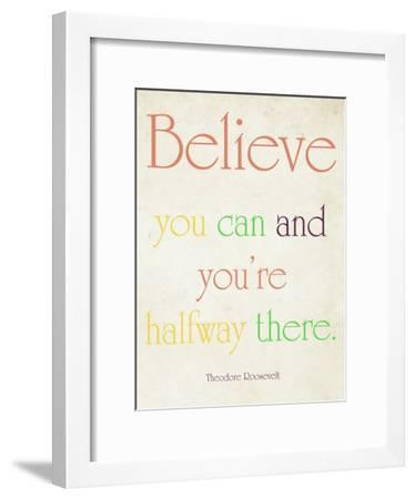Believe You Can-Sylvia Coomes-Framed Art Print
