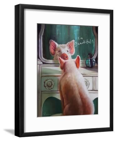 Affirmation-Lucia Heffernan-Framed Art Print