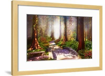 Forgiveness is the Path to Peace-David M (Maclean)-Framed Art Print