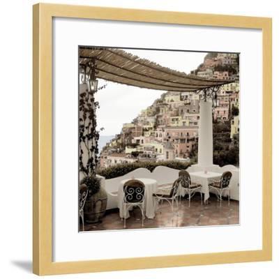 Positano Caffe #1-Alan Blaustein-Framed Photographic Print