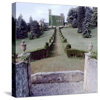 Giardini Italiano #20-Alan Blaustein-Stretched Canvas Print