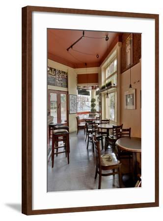 Mario's Cigar Store #137-Alan Blaustein-Framed Photographic Print