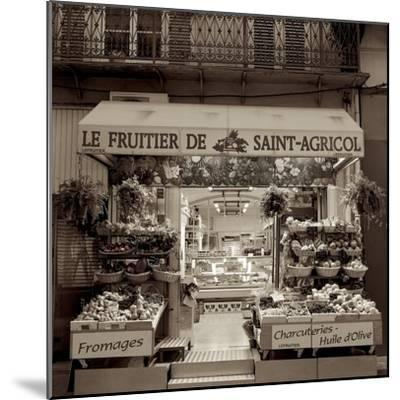 Marketplace #2-Alan Blaustein-Mounted Photographic Print