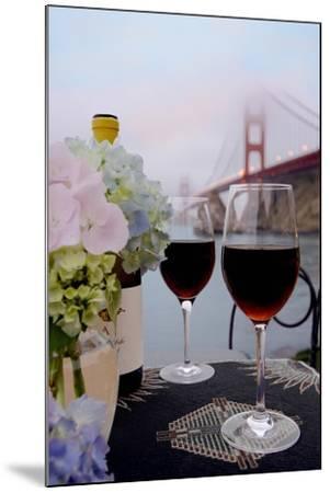 Dream Cafe Golden Gate Bridge #14-Alan Blaustein-Mounted Photographic Print