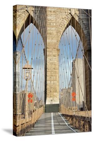 Brooklyn Bridge-Alan Blaustein-Stretched Canvas Print