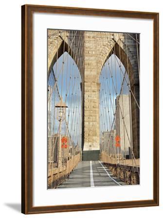 Brooklyn Bridge-Alan Blaustein-Framed Photographic Print