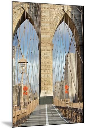 Brooklyn Bridge-Alan Blaustein-Mounted Photographic Print