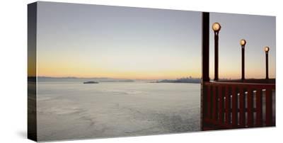 Golden Gate Bridge #39-Alan Blaustein-Stretched Canvas Print