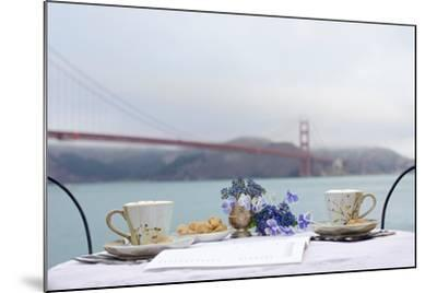 Dream Cafe Golden Gate Bridge #54-Alan Blaustein-Mounted Photographic Print