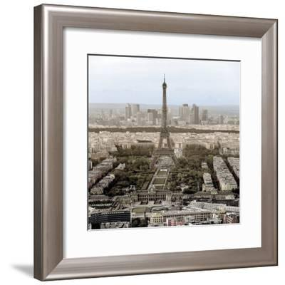 Tour Eiffel #14-Alan Blaustein-Framed Photographic Print