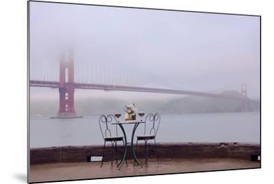 Dream Cafe Golden Gate Bridge #58-Alan Blaustein-Mounted Photographic Print