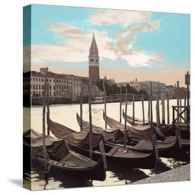 Campanile Vista with Gondolas #1-Alan Blaustein-Stretched Canvas Print