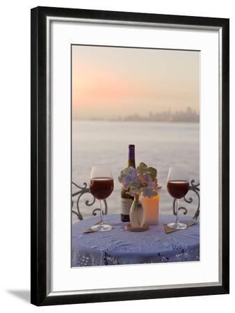 Dream Cafe Golden Gate Bridge #72-Alan Blaustein-Framed Photographic Print