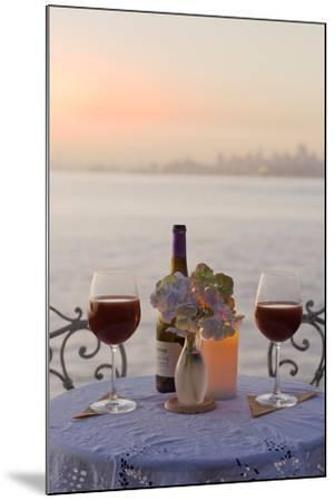 Dream Cafe Golden Gate Bridge #72-Alan Blaustein-Mounted Photographic Print