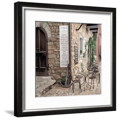 Varenna Caffe#1-Alan Blaustein-Framed Photographic Print