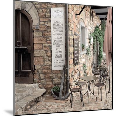 Varenna Caffe#1-Alan Blaustein-Mounted Photographic Print