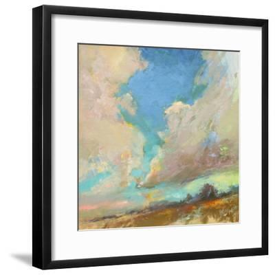 Clouds Got in My Way-Beth A^ Forst-Framed Art Print