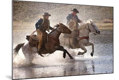 Splash Dance-Lisa Dearing-Mounted Photographic Print