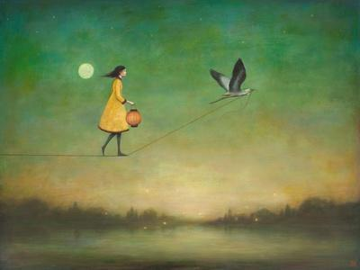 Blue Moon Expedition-Duy Huynh-Art Print