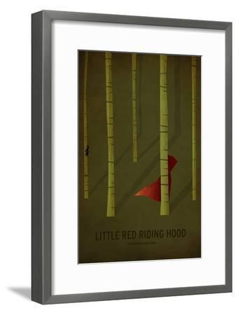 Little Red Riding Hood-Christian Jackson-Framed Art Print
