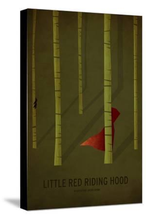 Little Red Riding Hood-Christian Jackson-Stretched Canvas Print