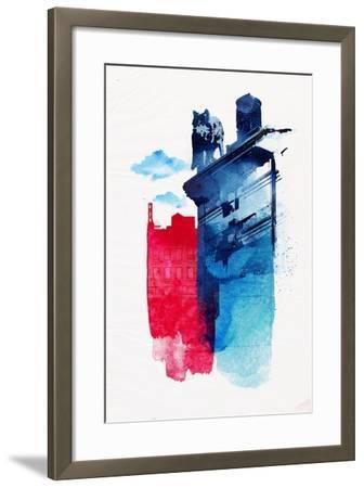 This Is My Town-Robert Farkas-Framed Art Print