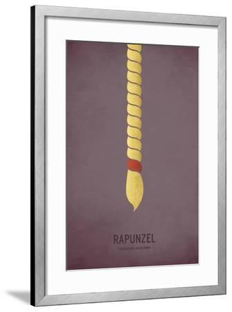 Rapunzel-Christian Jackson-Framed Art Print