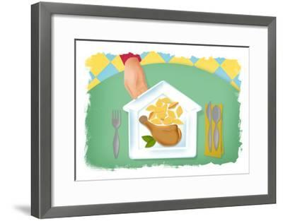 Comfort Food-Mary Ann Smith-Framed Giclee Print