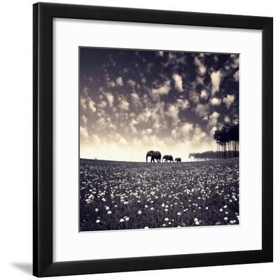 Manada-Luis Beltran-Framed Premium Giclee Print