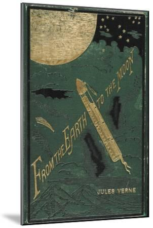 Smithsonian Libraries: Jules Verne Cover--Mounted Art Print