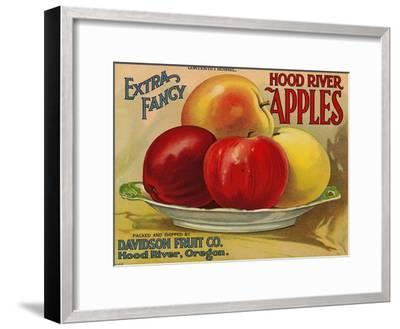 Warshaw Collection of Business Americana Food; Fruit Crate Labels, Davidson Fruit Co.--Framed Art Print