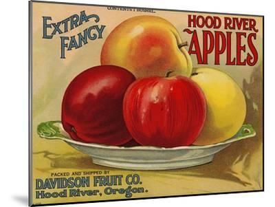 Warshaw Collection of Business Americana Food; Fruit Crate Labels, Davidson Fruit Co.--Mounted Art Print