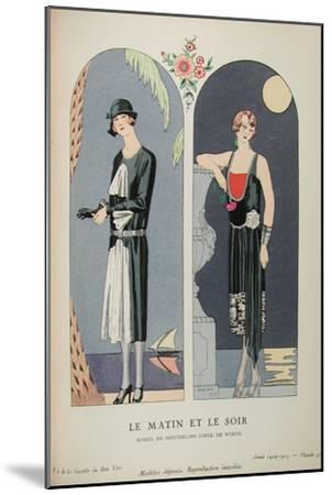 Costume Illustration by Georges Barbier--Mounted Art Print