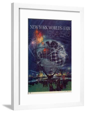World's Fair: New York World's Fair 1964-1965--Framed Art Print