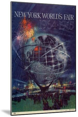 World's Fair: New York World's Fair 1964-1965--Mounted Art Print
