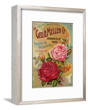 Seed Catalogues: The Geo. H. Mellen Co. Condensed Catalogue of Special Offers--Framed Art Print