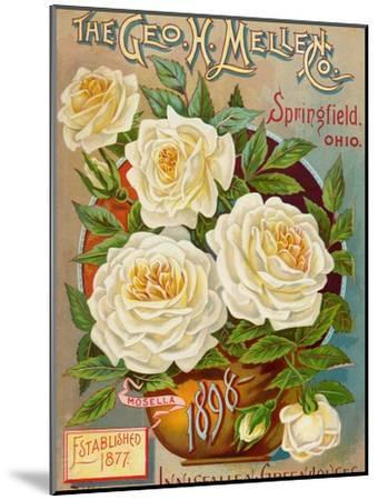 Seed Catalogues: The Geo. H. Mellen Co. Condensed Catalogue of Special Offers--Mounted Art Print