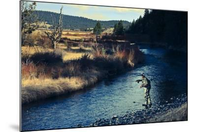 Spring Fly Fishing Outside Of Fairplay Colorado-Liam Doran-Mounted Photographic Print