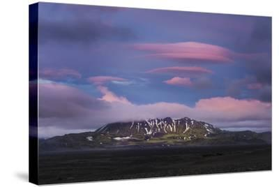 Stunning Summer Landscape Of The Volcanic Highlands In Iceland-Joe Azure-Stretched Canvas Print