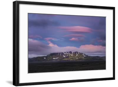 Stunning Summer Landscape Of The Volcanic Highlands In Iceland-Joe Azure-Framed Photographic Print