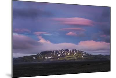 Stunning Summer Landscape Of The Volcanic Highlands In Iceland-Joe Azure-Mounted Photographic Print