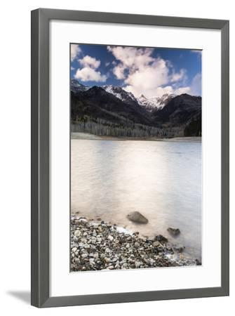 Silver Lake Flat At Sunset-Lindsay Daniels-Framed Photographic Print