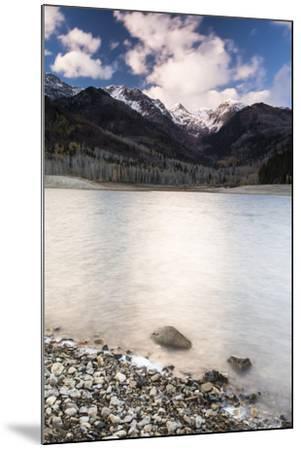 Silver Lake Flat At Sunset-Lindsay Daniels-Mounted Photographic Print
