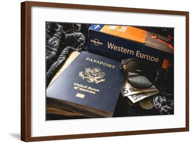 Packing For Europe-Lindsay Daniels-Framed Photographic Print