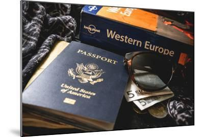 Packing For Europe-Lindsay Daniels-Mounted Photographic Print