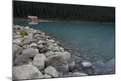 Cabin On Lake Louise-Lindsay Daniels-Mounted Photographic Print