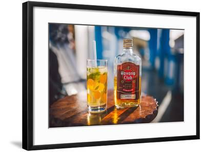 Two Symbols Of Cuba, A Mojito And Havana Club Rum-Erik Kruthoff-Framed Photographic Print