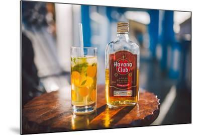 Two Symbols Of Cuba, A Mojito And Havana Club Rum-Erik Kruthoff-Mounted Photographic Print