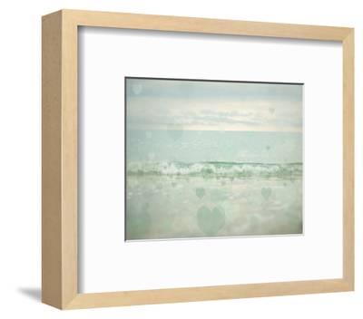 Oceans of Love 1-Elizabeth Urquhart-Framed Photo